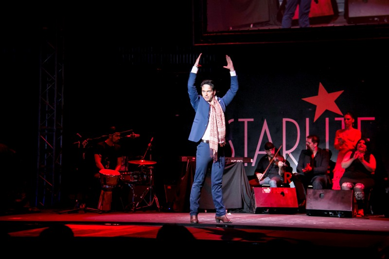 Curro de Candela presentando en Starlite Lounge su espectaculo_Foto Jaime D. Triviño_18.08.14_2